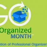 Get Organized Month 2016, home organiser suisse, Janvier 2016